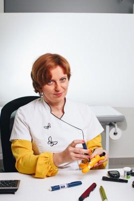 Lek. Katarzyna Wakulińska - specjalista diabetolog
